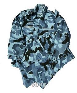 Officier De Marine Chinoise Ensembles De Camouflage Bleu. Type 97