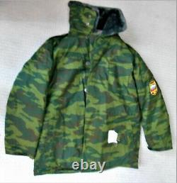 Original Russian Army Chechen War Era Vsr-98 Flora Camouflage Winter Set