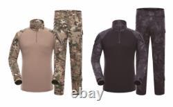 Pantalon D'uniforme Tactique De L'edr Militaire Ensemble Pantalon De Chasse Airsoft Camouflage