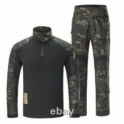 Pantalon De Combat Militaire Hommes Costumes Tactiques Swat G3 Ensembles Uniformes Camouflage