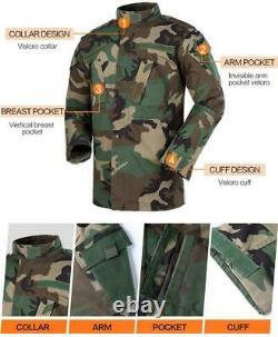 Pantalon De Combat Tactique De L'armée De Terre En Manteau Pour Hommes