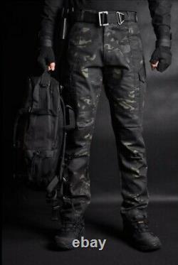 Pantalon De T-shirt De Combat Tactique Militaire Mentiles Bdu Uniformes Armée Camouflage Swat Swat