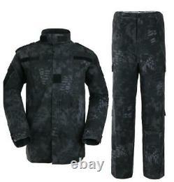 Pantalon De Veste Homme Sport Manteau Militaire Tactique Pantalon De Combat Ensemble D'uniforme De Combat Extérieur