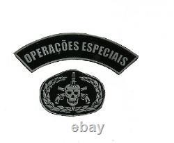 Patch De Pochette D'unité D'opérations Spéciales De L'armée Brésilienne Pour L'uniforme De Camouflage