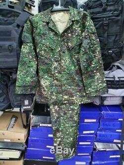 Philippines Armée Et Les Marines Numérique Tropical Camouflage Bdu Set Grand Ph