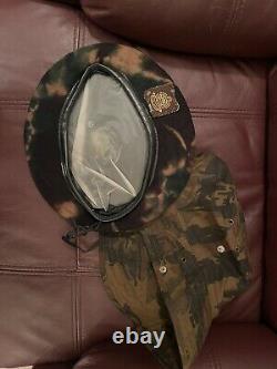 Police Ferroviaire Sud-africaine Camouflage Ensemble Uniforme - Gilets, Pantalons, Chapeau, Béret