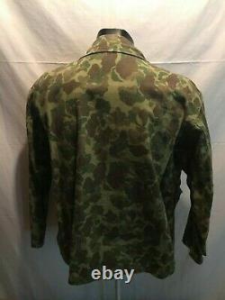Reproduction Wwii Us Army Hbt Ensemble Uniforme De Camouflage, Taille 44/36