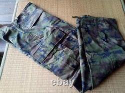 Royal Thai Navy Fleet Pixelated Camouflage Pattern Ensemble Uniforme Chemise & Pantalons Nouveau