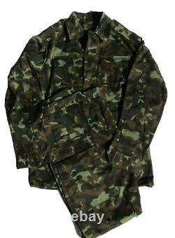Russe Airborne/spetsnaz Woodland Motif Camouflage Taille Ensemble 50-6
