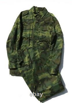 Russe U. S. Camouflage Modèle Bois Style 2pc Set Taille 60-5 Début Des Années 1990
