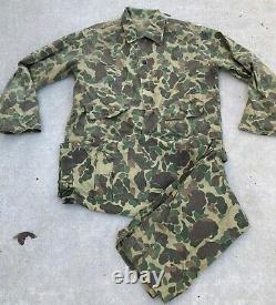 Set Duckhunter Leopard Tôt Forces Spéciales Usn Seals Camouflage Taille M