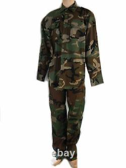 Set Jacket And Trousers Uniforme L Combat Camouflage Military X Softair