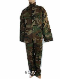 Set Jacket And Trousers Uniforme XL Combat Military Camouflage Softair