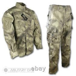 Smudge Kam Desert Pattern Uniform Set Shirt Pantalon Acu Style Us Military Camo