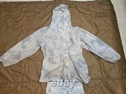 Snow Camo/neige Marpat Usmc Top/bottom Medium Long Overwhite Set Rare Camouflage