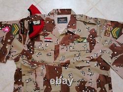 Spécifications De L'armée Syrienne Desert Camouflage Bdu Camo Ensemble Uniforme