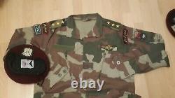 Syrie Fsa Bois Camouflage Bdu Camo Ensemble Uniforme Spécifications Militaires