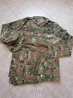 Turkish Marines Sas Sat Nco Multicam Specs Camouflage Uniforme Bdu Camo Set