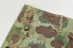 U. S. Wwii Marine Corps P44 Camouflage Veste Uniforme Et Pantalon Set
