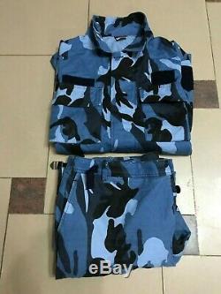 Uniforme Albanie Police Camouflage Set Très Rare