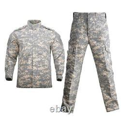 Uniforme Militaire Camouflage Costume Tactique Hommes Armée Forces Spéciales Maillot De Combat