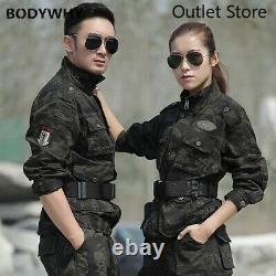 Uniforme Militaire Tactique Camouflage Coton Uniformes Chauds Vêtements De Chasse