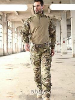 Uniformes Militaires Multicam Camouflage Tropic Frog Costumes De Formation Costumes Hommes-nous