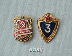 Urss Armée Buckle Set 2x Uniforme Militaire Soviétique Camouflage Ceinture De Soldat Russe
