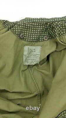 Usgi Desert Night Camouflage Parka & Pantalons Set Petite Dla Des Années 1980
