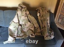 Usgi Ecwcs Gore-tex Desert Camouflage Set Xlarge Long Parka Large Pantalon