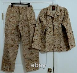 Usmc Desert Marpat Camouflage Taille Moyenne/courte