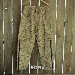 Usmc Desert Marpat Ensemble D'exposition Léger Propper Gore-tex Veste M + Pantalon
