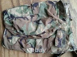 Usmc, Marines Des États-unis, Set Coat, Pantalon, Ceinture, Combat, Camouflage Woodland