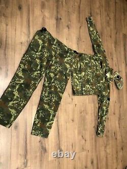 Utilisé Albanie Armée Nouveau Militaire Flectarn Camo Uniforme Camouflage Taille De Jeu Xlr