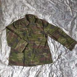 Véritable Nouvel Ensemble Armée Turque Des Années 2000 Uniforme De Camouflage Bois Bdu Camo