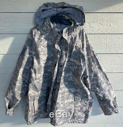 Véritable Us Army Acu Numérique Camouflage Nomex Gratuit Ewol Set X-large Regular