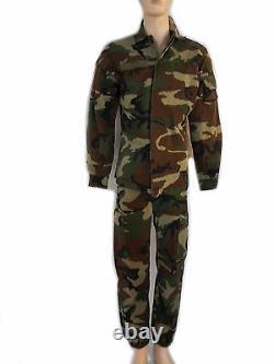 Veste Et Pantalon De Combat Militaire Camouflage Softair Uniforme S