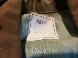 Vintage 01, U.s. Issue Woodland Camouflage Bdu Set Shirt& Pants Medium Regular