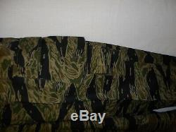 Vnt7mb Rvn Vietnam Tiger Stripe Camouflage Bouton Set Uniforme M 44j 34t W13e