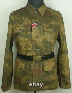 Wwii Allemand Tan & Eau Camouflage M43 Ensembles D'uniforme De Champ(repro)