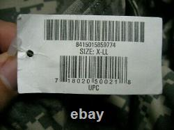 /us Army Combat Acu Camouflage Universel, Set, Size XL